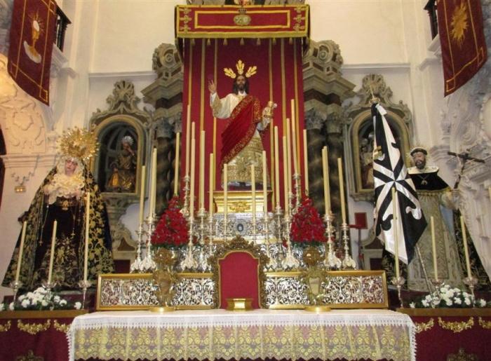 Archivo:Altar cultos Hdad. Cena Cádiz 2016.jpg