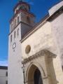 Iglesia de la O. Portada lateral y torre.JPG
