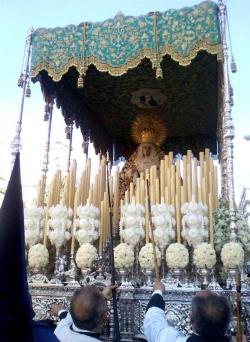 Resultado de imagen de María Santísima de la Amargura a la Santa Iglesia Catedral de Jere