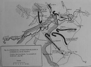 Campaña España en Llamas: Ofensiva de Córdoba 1936 300px-Ataque_Miajas
