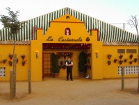Portada caseta La Castañuela - Feria de Córdoba (2009).jpg