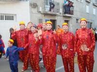 Desfile de bellezas internacionales y nacionales en los