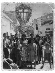 Santa cruz de arriba rociana del condado huelvapedia - Fotos antiguas de rociana del condado ...