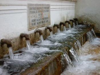 Fuente de los doce ca os fuenteheridos huelvapedia - Fuente de los banos montanejos ...