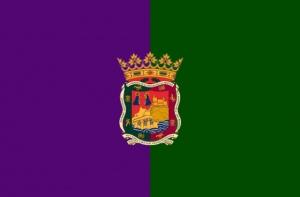 Bandera de m laga malagapedia - Bandera vivar velez malaga ...