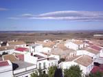 Vista aérea de Castilleja del Campo.