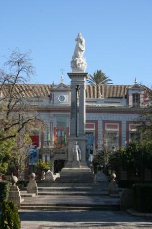 Resultado de imagen de plaza del triunfo murillo sevilla