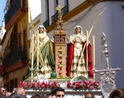 Santas Justa Y Rufina Sevillapedia