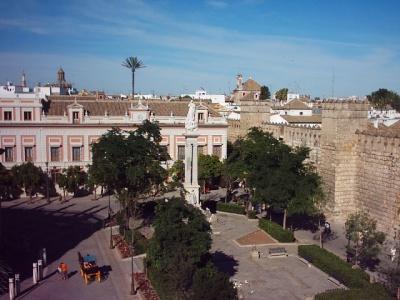Resultado de imagen de plaza del triunfo sevilla