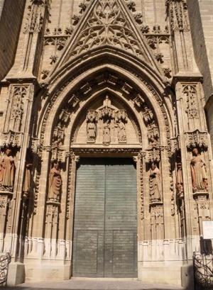 Puerta Del Bautismo De La Catedral Sevilla Sevillapedia