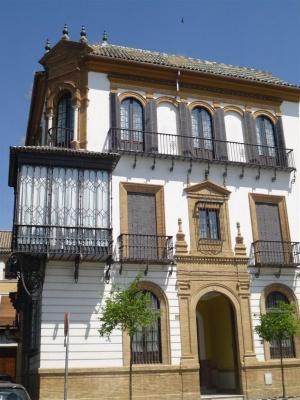 Casa para luis prieto sevilla sevillapedia - Fachadas de casas andaluzas ...